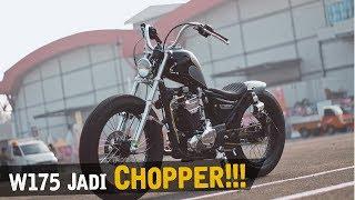 Download Custom W175 Jadi Chopper [Atenx Katros] Video