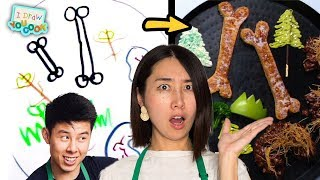Download Can These Chefs Turn This Yeti Drawing Into Real Food? •Tasty Video