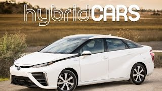 Download 2016 Toyota Mirai Fuel Cell Car First Drive - HybridCars Review Video