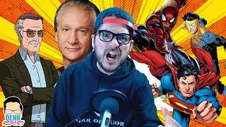 Download Por esto se insultó el legado de Stan Lee y a los cómics - Marvel supera a DC en cómics | QR Video