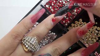 Download Uñas para 14 de febrero, Valentines nails Video