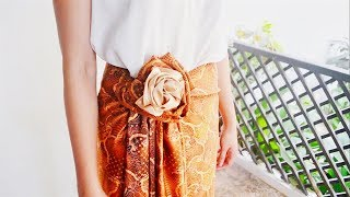 Download Kain Batik Tutorial (7 styles in 1 Batik) Video