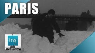Download 1956 : La Seine gelée à Paris et en banlieue| Archive INA Video