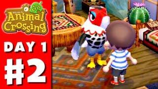 Animal Crossing: New Leaf - Gameplay Walkthrough Part 1