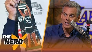 Download Colin Cowherd's all-time starting 5 for today's game   NBA   THE HERD Video