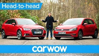 Download Audi A3 vs Volkswagen Golf 2018 review - which should you buy? | Head-to-Head Video