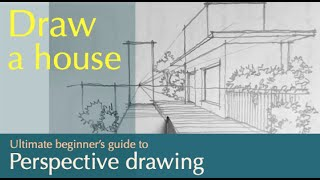Download Draw a scenery in one point perspective Video