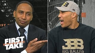 Download LaVar says LaMelo will be 2020 No. 1 pick, talks Alan Foster and Lonzo-Zion connection | First Take Video