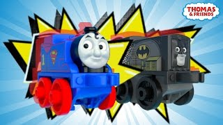 Download Diesel as Batman saves Thomas as Superman ! | DC Super Friends™ MINIS Mash Ups! | Thomas & Friends Video