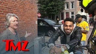 Download Chris Brown - Can't Contain Himself as a Local Woman Rats Him Out | TMZ Video