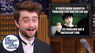 Download Daniel Radcliffe Reacts to Harry Potter Memes Video