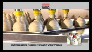 Download Make Cupcakes, Muffins, Macarons and Eclairs Effortlessly with MONO Equipment's Tabletop Depositor Video