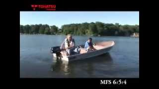 Download Tohatsu MFS6hp, 5hp and 4hp Video