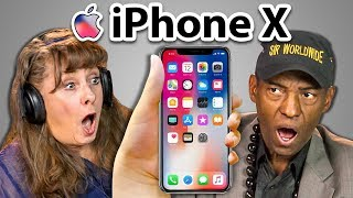 Download ELDERS REACT TO iPhone X and 8 Video