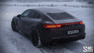 Download Playing on Snow in the New Porsche Panamera Video
