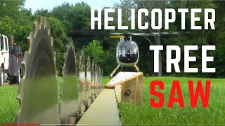 Download Helicopter Tree Sawing In The MD 500 Video