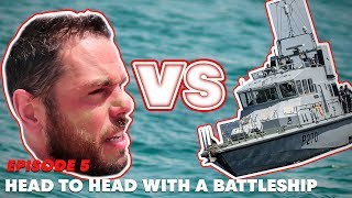 Download Head to head with a battleship. | Ross Edgley's Great British Swim: E5 Video