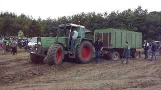 Download Treckertreffen Hohenwepel mit dem Fendt der 16 Tonnen Last zieht. Part 1 Video