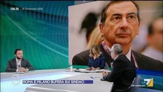 Download Omnibus - Roma e Milano bufera sui sindaci (Puntata 16/12/2016) Video