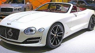 Download Bentley Electric Car EXP 12 Speed 6e 2019 World Premiere New Bentley CARJAM Video