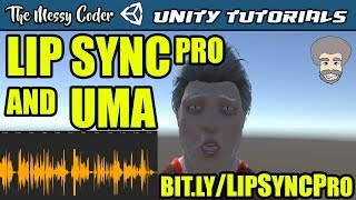 Download Unity Tutorials - Getting started with LipSync Pro & UMA Video