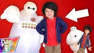 Download BIG HERO 6 IN REAL LIFE! ⚡️ Toddler's New Hair! Video