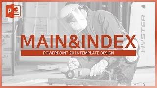 Download 다시 봐도 안아까운 PPT 표지,목차 만들기! (매우쉬움) EZ세상 파워포인트 for powerpoint2016 design Video