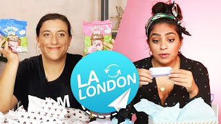 Download Women Swap Mystery Beauty Boxes • LA & London Video
