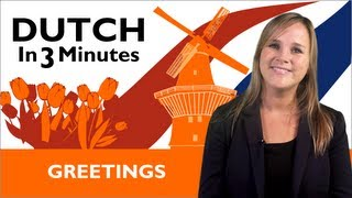 Download Learn Dutch - Dutch in Three Minutes - Greetings Video