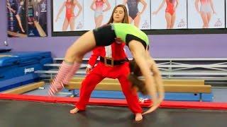 Download If Santa's Workshop was a Gymnastics Gym Video