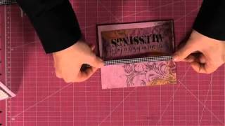 Download How To Adhere Vellum Without Adhesive Showing Video