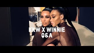 Download Q&A with Kim Kardashian West & Winnie Harlow   KKW Beauty Video