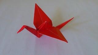 Download Cara Membuat Origami Burung Bangau   Origami Burung   Origami Binatang Video