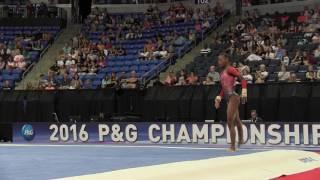 Download Trinity Thomas- Floor Exercise - 2016 P&G Gymnastics Championships – Jr. Women Day 2 Video