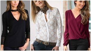 Download BLUSAS 2017/ blusas de moda ❤ Moda EMdesign 👌 Video