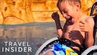 Download World's First Waterpark That's Wheelchair Friendly Video