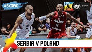 Download Serbia v Poland | Full Game | Semi-Final | FIBA 3x3 World Cup 2018 Video