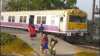 Download Krishnanagar-Sealdah Local Train (ER/Eastern Railway) passing Kalinarayanpur Jn Railway Station Video