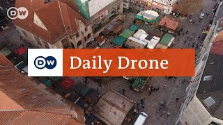 Download #DailyDrone: Göttinger Weihnachtsmarkt Video