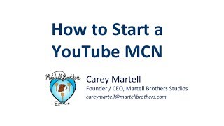 Download How to Start a YouTube Network : A Guide Video