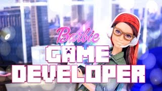 Download Unbox Daily: Barbie Game Developer - Doll Review - 4K Video