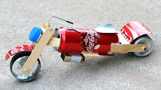 Download How to Make a Toy Motorcycle - Amazing Coca-Cola Motorcycle DIY Video