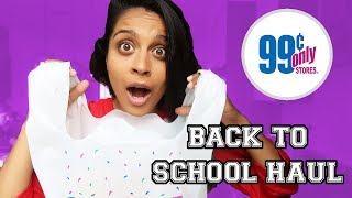 Download 99 CENT STORE BACK TO SCHOOL HAUL! Video