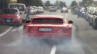 Download BRUTAL Dodge Viper GTS-R, GTS, RT/10 - Burnouts & Rev Battle V10 Sound! Video