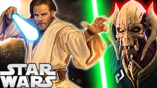 Download Why Did General Grievous Lose to Obi-Wan Kenobi in Revenge of the Sith? Star Wars Explained Video