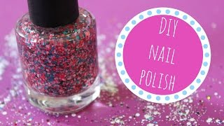 Download HOW TO MAKE YOUR OWN DIY NAIL POLISH | Allie Young Video