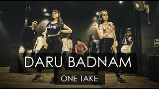 Download DARU BADNAAM | One Take | Tejas Dhoke Choreography | DanceFit Live Video
