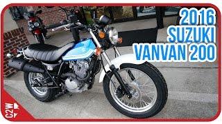 Download 2016 Suzuki VanVan 200 | First Ride Video