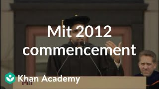 Download MIT 2012 Commencement Address Video
