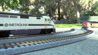 Download HD- My HO Model Train Collection: Metrolink, Southern Pacific, Union Pacific, etc. Video